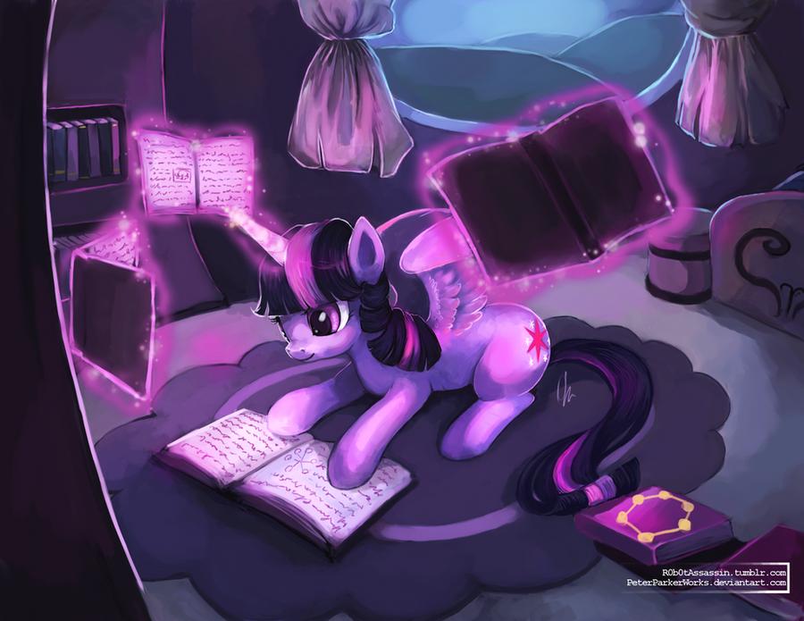 MLP: Twilight Sparkle by The-Keyblade-Pony