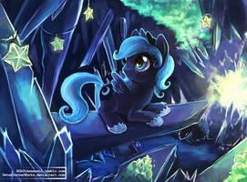 Little Luna by The-Keyblade-Pony