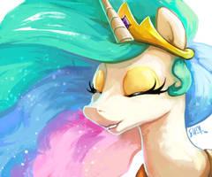 Celestia by The-Keyblade-Pony