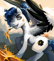 Salems Breath by The-Keyblade-Pony