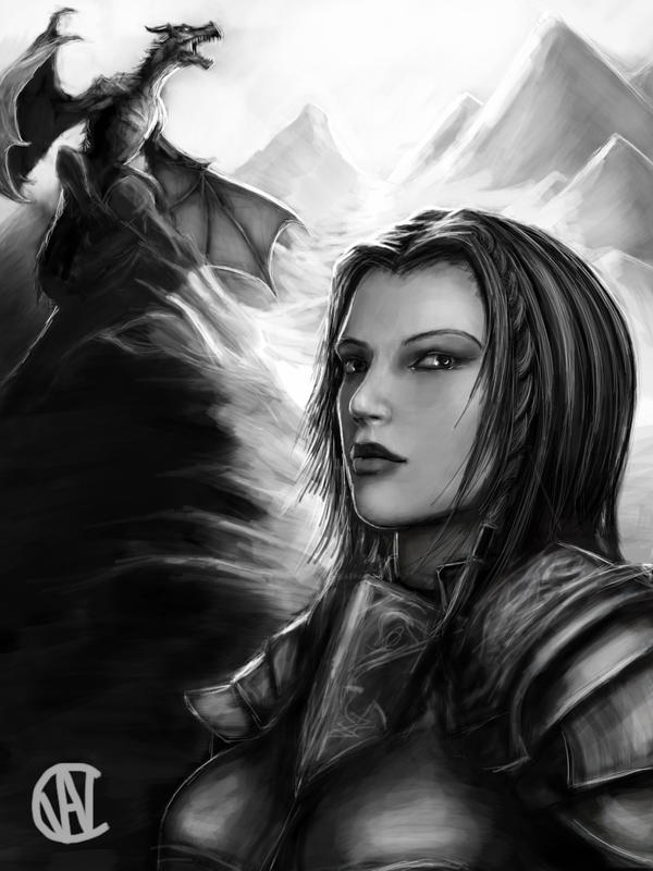 The Loyal Housecarl by bigcman321