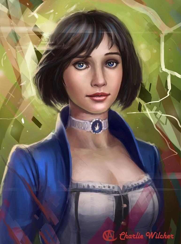 Elizabeth by CharlieWilcher