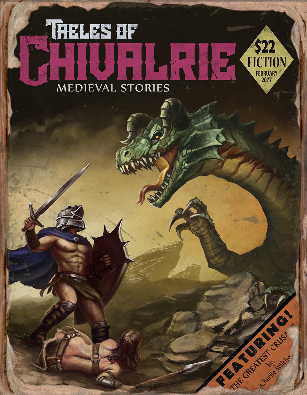 F4NV Taeles of Chivalrie by CharlieWilcher