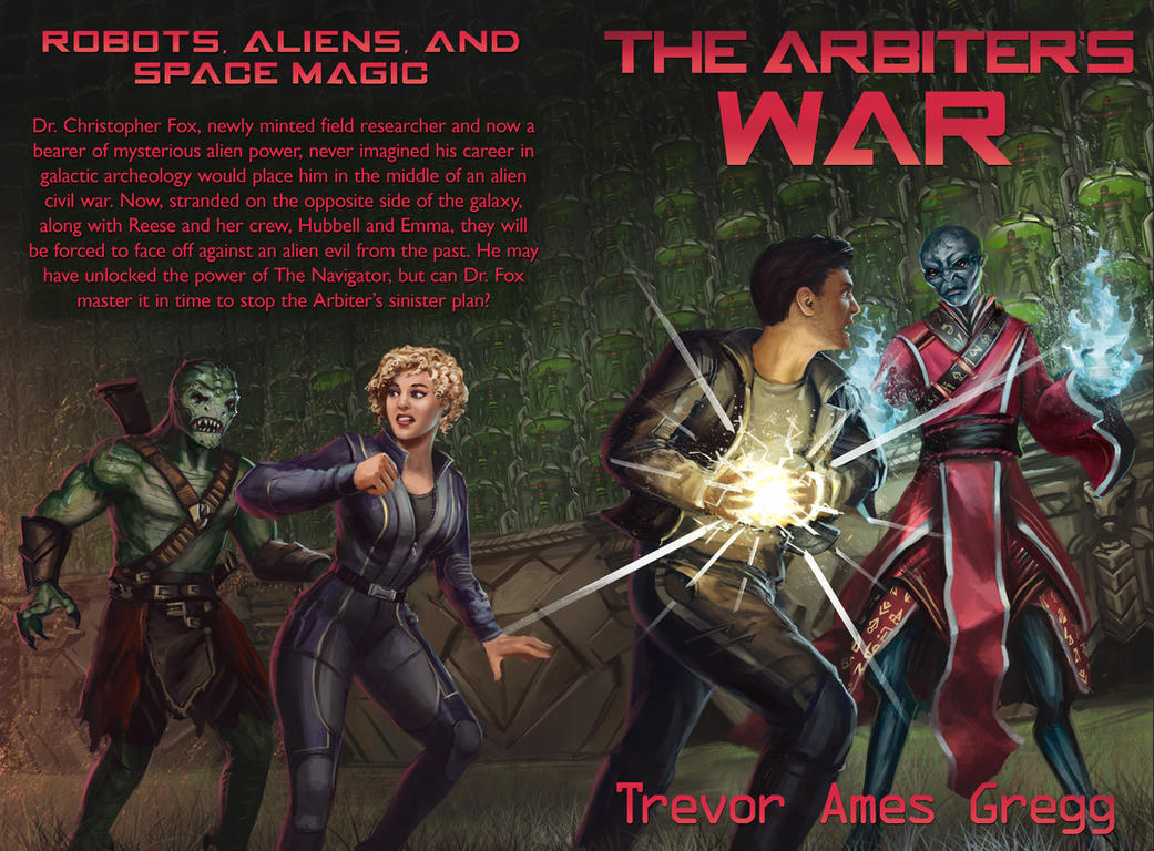 Commission - THE ARBITER'S WAR Book Cover by CharlieWilcher