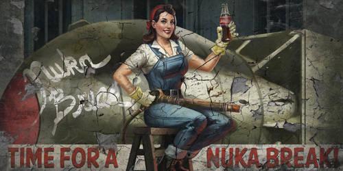 Capital Wasteland Nuka Break Billboard