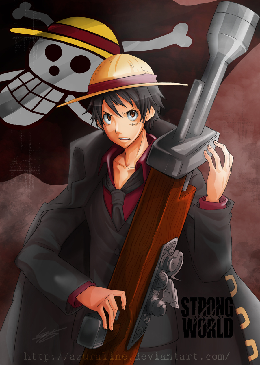 Luffy Strong World by AzuraLine