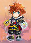 KH : Sora by AzuraLine