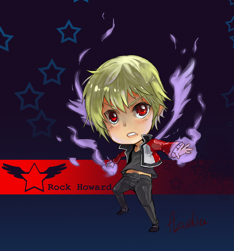 Chibi Rock Howard By Azuraline On Deviantart Rokku hawādo) is a video game character appearing in various games from snk. chibi rock howard by azuraline on