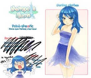 M.I. Poke-Meetic : Otoha by AzuraLine
