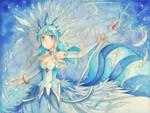 Otoha cosplay : Articuno by AzuraLine