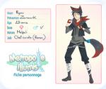 Fiche Personnage Ryuu by AzuraLine