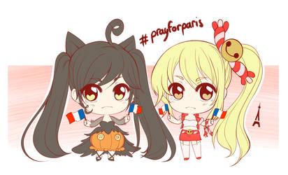 #PrayforParis by AzuraLine