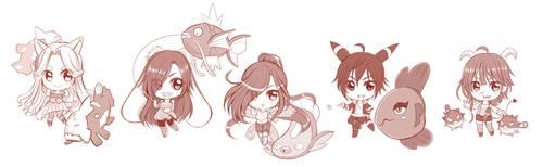 Doodlefish by AzuraLine