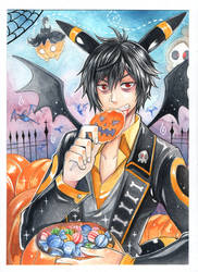 Happy Halloween Gabriel by AzuraLine