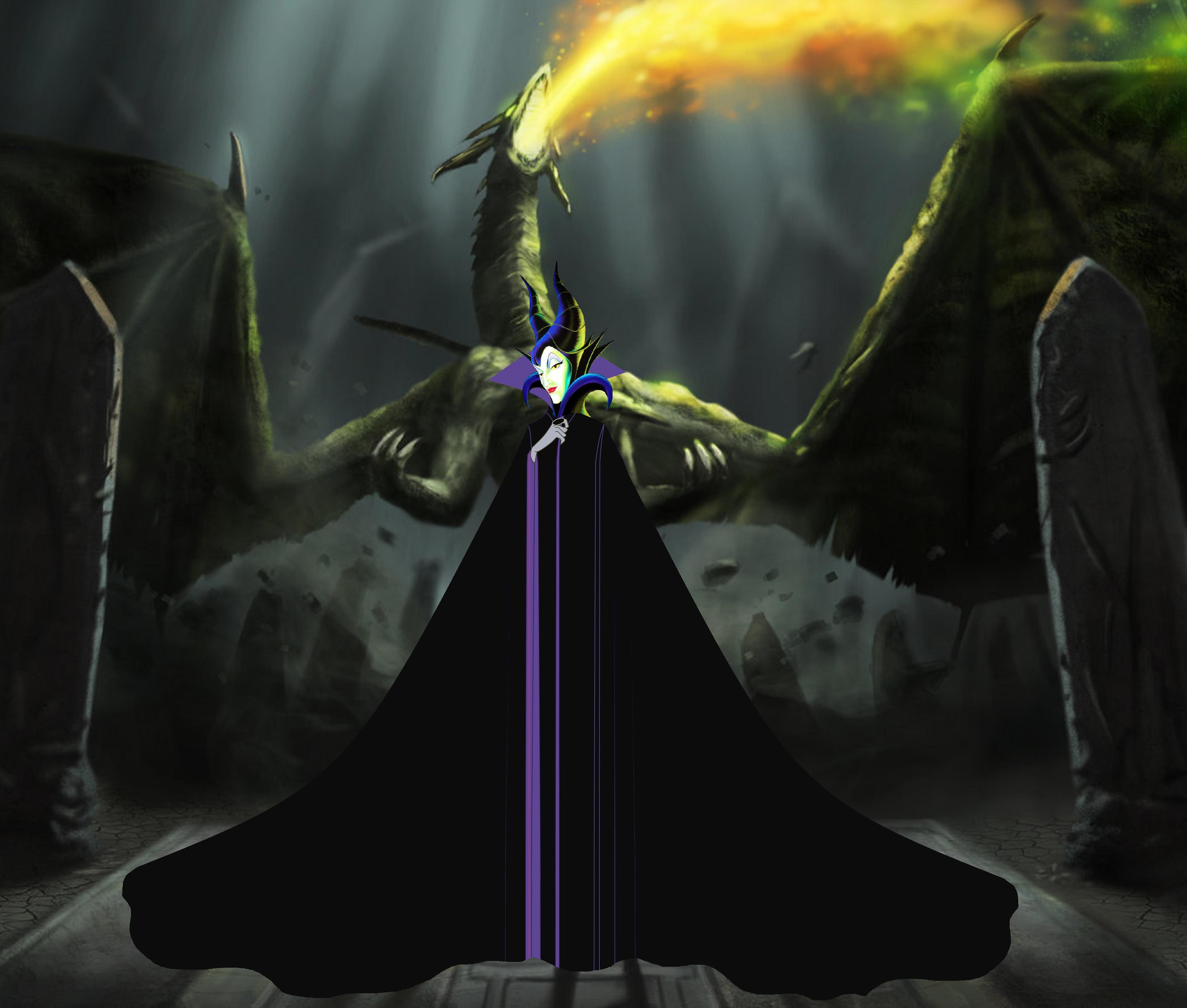 Maleficent Dragon Wallpaper Maleficent Dragon Powe...
