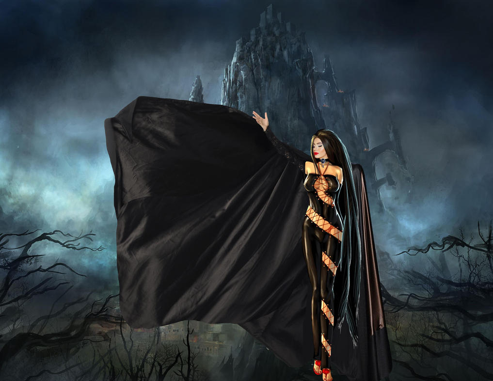 The Dark Queen Rises by countess1897 on DeviantArt