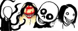 Iscribble CreepyPasta by Comickit