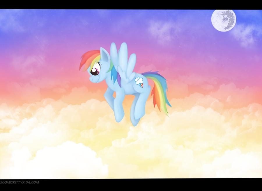 T-week: Rainbowdash by Comickit