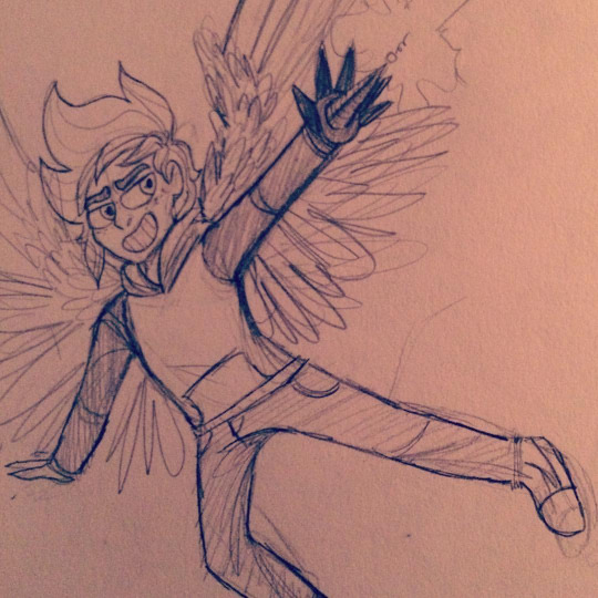 an angery bird by Comickit