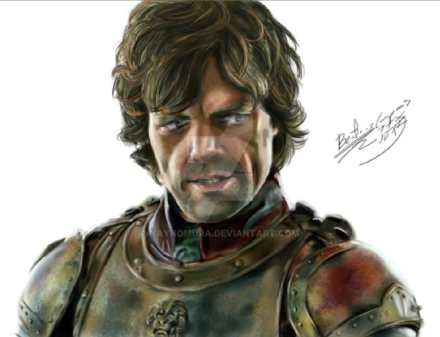 tyrion lannister portrait by NayNomura