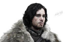 Jon Snow, Jon Nieve by NayNomura