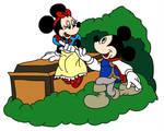 Mouse Couples: Snow White