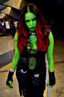 Gamora - Guardians of the Galaxy by BrunaCarolinaMelo