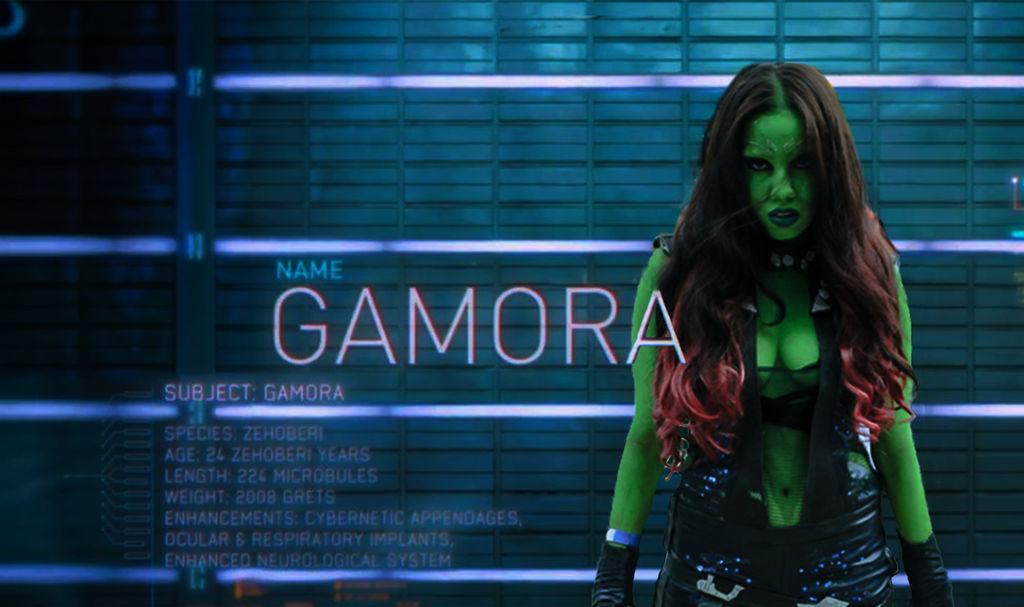 Gamora by BrunaCarolinaMelo