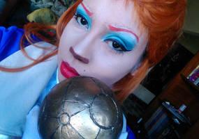 Captain Amelia Make-up test by BrunaCarolinaMelo