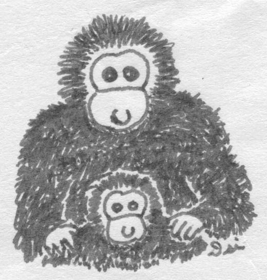 Monkey Love by BoltBait on DeviantArt