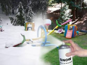 Applying Snow by BoltBait