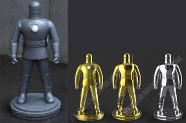 Original ironman for Bowen by AYsculpture