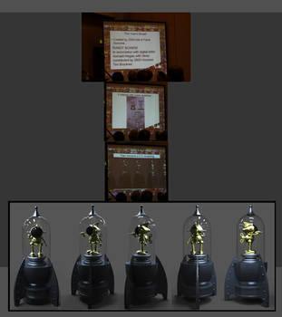 Wizard Toyfare Award Sculpt by AYsculpture