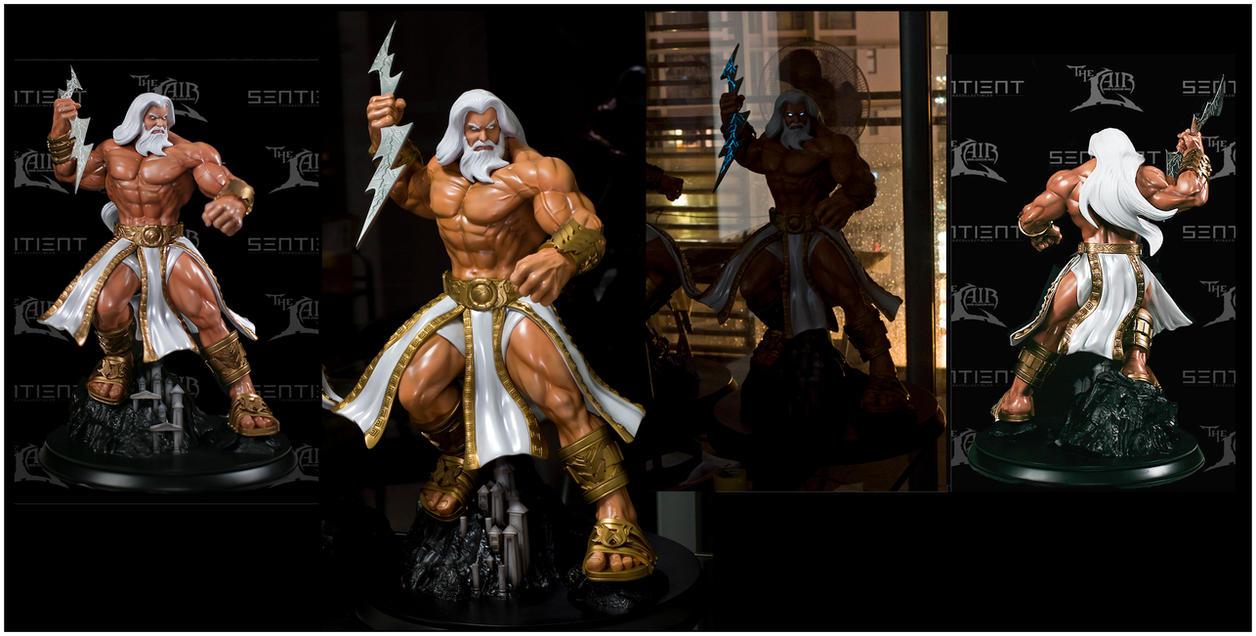 Zeus Statue for Sentie...
