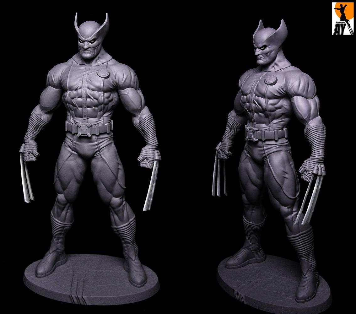 Wolverine Heroic Age Prototype By Aysculpture On Deviantart