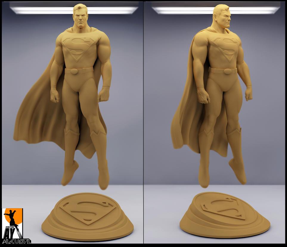 Superman -Alex Ross Version by AYsculpture
