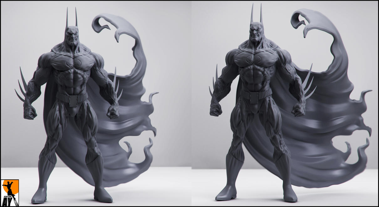 The Batman - Simon Bisley by AYsculpture