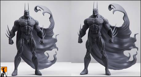 The Batman - Simon Bisley by AYsculpture