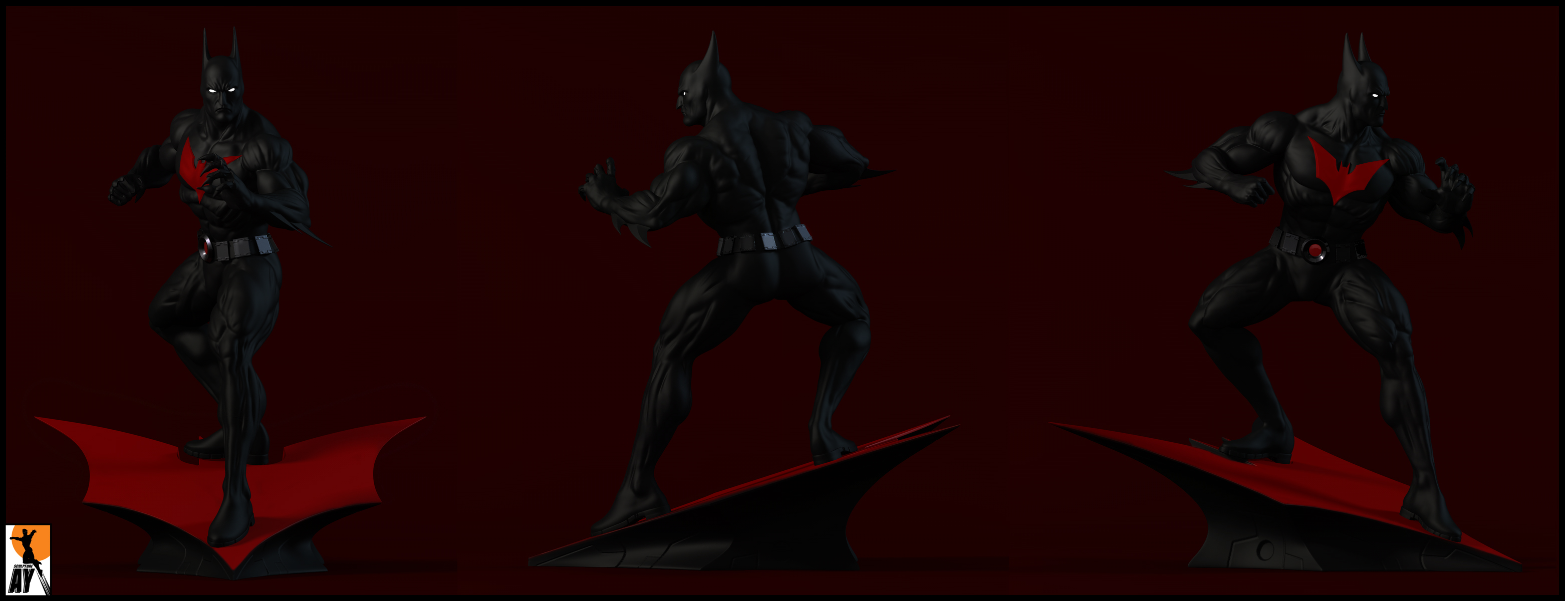 Batman Beyond by AYsculpture on deviantART