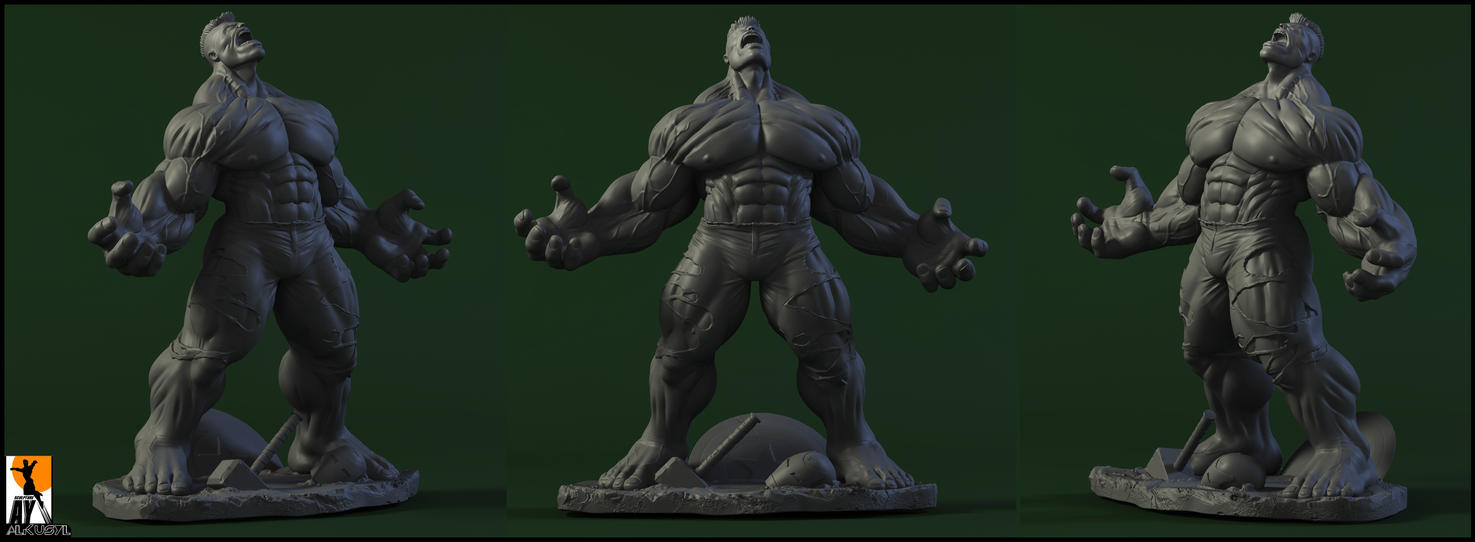 WorldWarHulk by AYsculpture