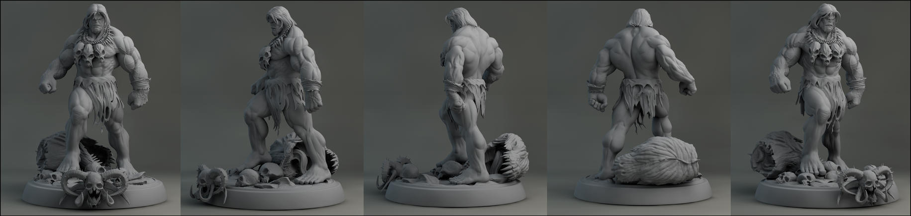 Mark Silvestri Hulk by AYsculpture