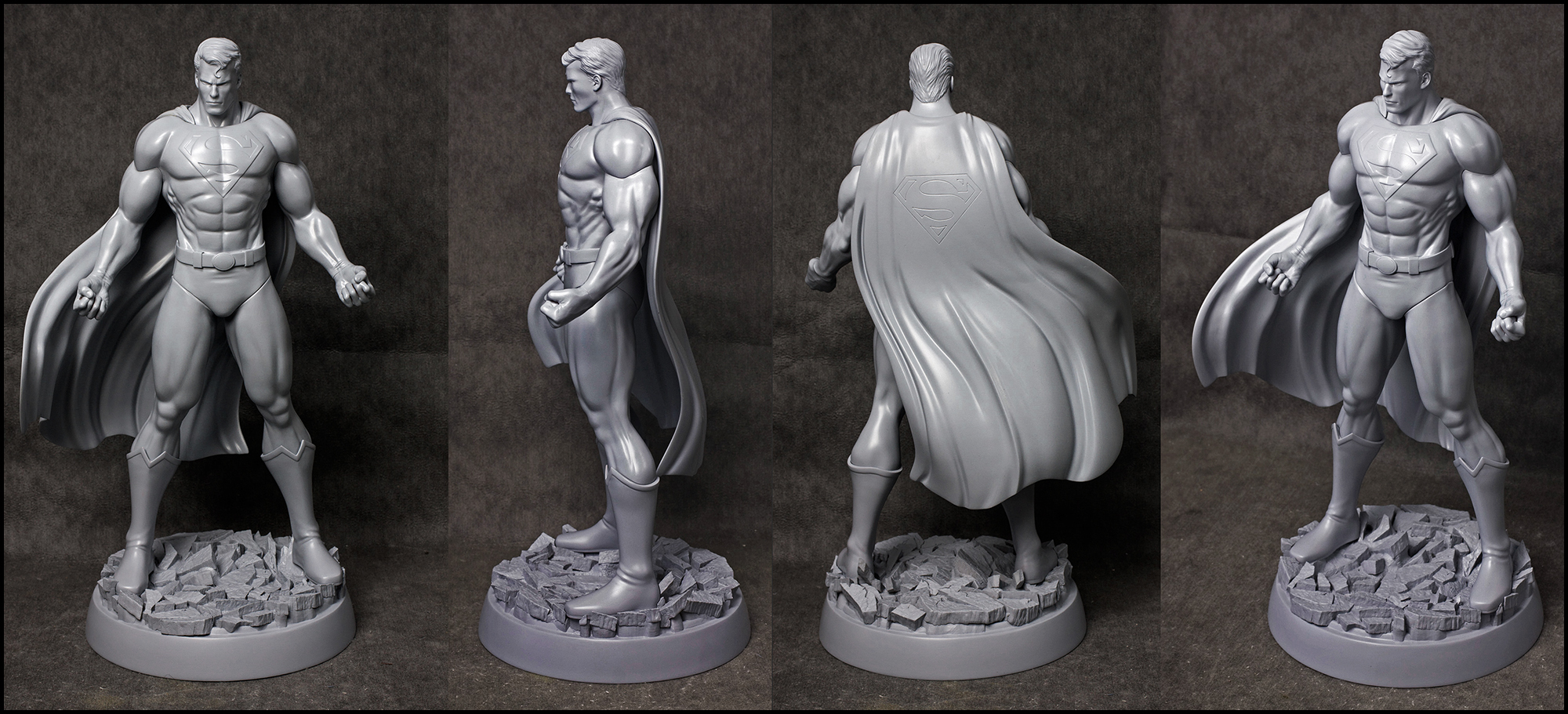 JL: Heroes of Tomorrow -SUPERMAN by AYsculpture