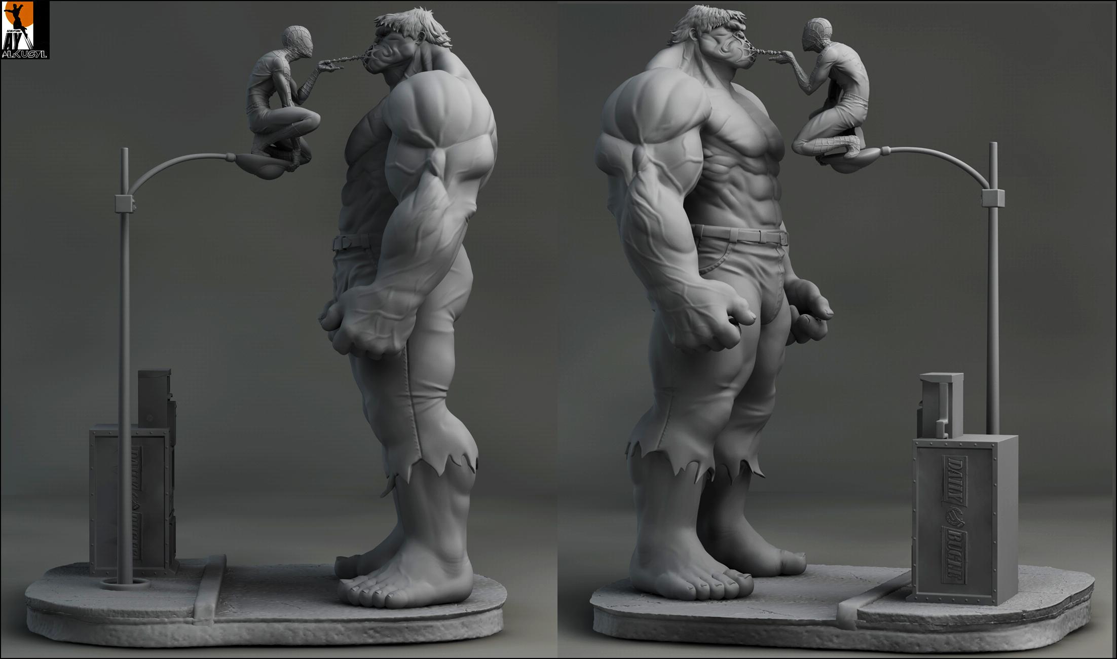 Hulkvs spidey