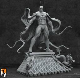 Batman-Hong Kong by AYsculpture