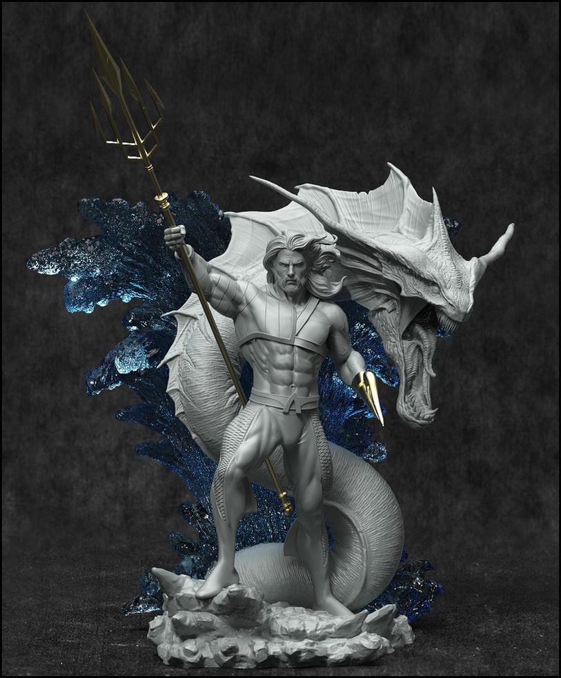 Aquaman -King of Atlantis by AYsculpture