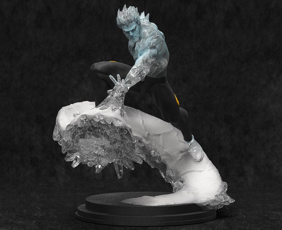 ICEMAN! by AYsculpture