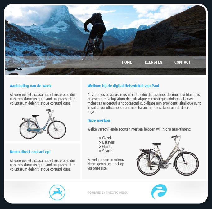 bike shop template by devious design on deviantart. Black Bedroom Furniture Sets. Home Design Ideas