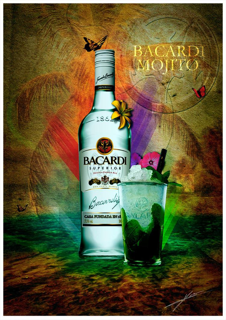 bacardi mojito by deviousdesign on deviantart