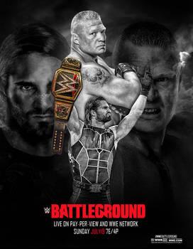 WWE BattleGround 2015 Poster