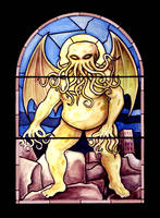 Cthulhu Window by Sellers